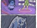 Inside Out Batman's version