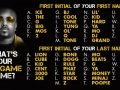 What's your rap game name?
