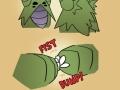 Nuclear fist bump!!!