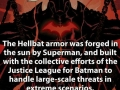 The hellbat armor
