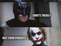 That Joker always so serious