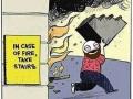 In case of a fire..