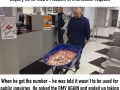 Man pays tax bill with 5 wheelbarrows full of coins