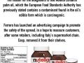 Supermarket bans Nutella