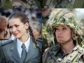 Beautiful Serbian soldiers