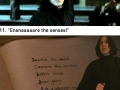 Professor Snape moments that make us love him