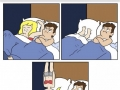 6 stages of sleeping with your partner