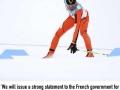 Venezuelan skier delivers inspiring response
