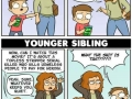 Older sibling vs younger sibling