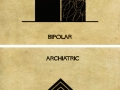 Mental illnesses and disorders explained using architecture