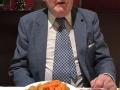 Ellie Walker has dinner with elderly widower