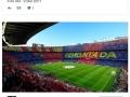 Twitter explodes as Barcelona beat PSG 6-1