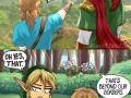 Legend of Zelda BoTW comic