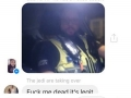 Cops interrupt group chat to get drunk man home