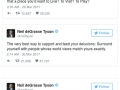 Neil deGrasse Tyson's response to Trump's new budget