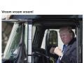 Trump got to sit in a big boy truck!