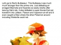 Why you gotta hate on Bulbasaur?