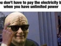 Palpatine never misses a trick