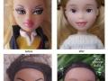Australian mum repaints Bratz dolls