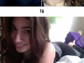 Pretty girls reveal their ugly faces online