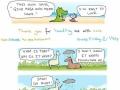 Happy animal comics