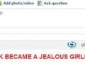 Jealous facebook
