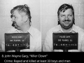 Infamous criminals and their last words