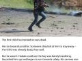 Photographer puts down camera to help injured kids in Syria blast