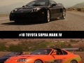 Coolest cars in the Fast and Furious series