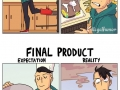 Cooking expectation vs reality