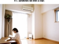 Japan's extremely minimalist home