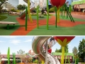 A Danish company creates story-themed playgrounds