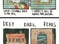 Deep dark fears describing your greatest nightmares