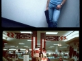 Photos from a US mall in 1990