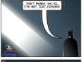 Batman and Superman's rivalry