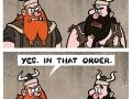 Wrong order