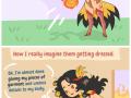 Not very practical heroines