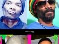 Aging rappers, then & now