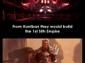 The origins of the Sith
