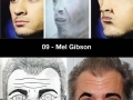 Celebrity sketches by fans