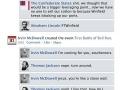 Civil War on Facebook