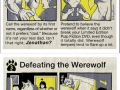 How to fight a werewolf