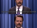 Nick Offerman offers freshman college advice