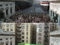 Popular movie scenes before and after special effects
