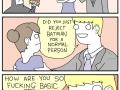 You don't reject Batman, even Harvey knows that