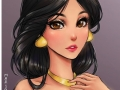 If Disney princesses were anime characters