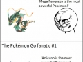 Types of pokemon fans