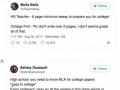 Tweets that prove high school and college are worlds apart