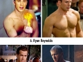 Impressive male celeb body transformations