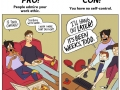 Pros and cons of being a workaholic